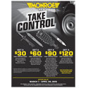 "Monroe Shocks & Struts ""Take Control"" Rebate"