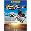 "Monroe Shocks & Struts ""Summer Sale-A-Bration"" Rebate"