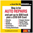 Summer 2014 Send Me My Rewards Auto Repair Rebate