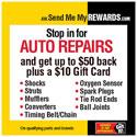 Summer 2014 Send Me My Rewards Auto Repair Rebate
