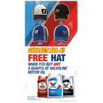 Valvoline Racing Hat Offer