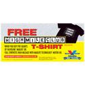 Valvoline High Mile Club T-Shirt Offer